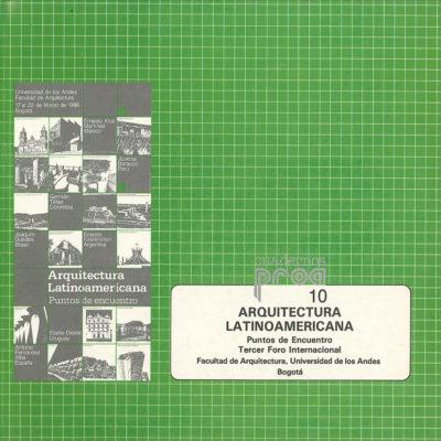 Arquitectura latinoamericana - Puntos de encuentro