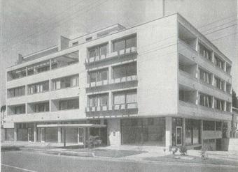 Edificio de apartamentos Rueda. Proyecto: Guillermo Bermúdez. Calle 73 No. 7-31.