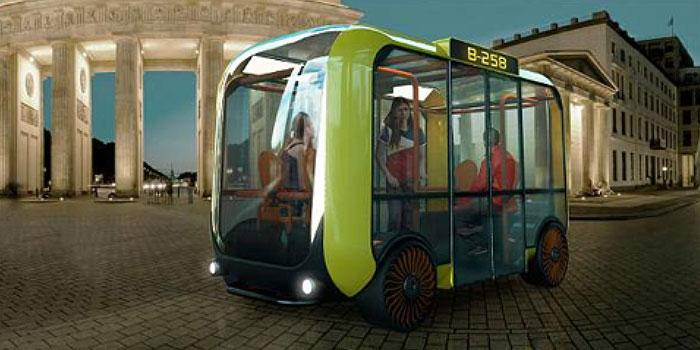 Minibús futurista diseñado por colombiano recibió premio internacional
