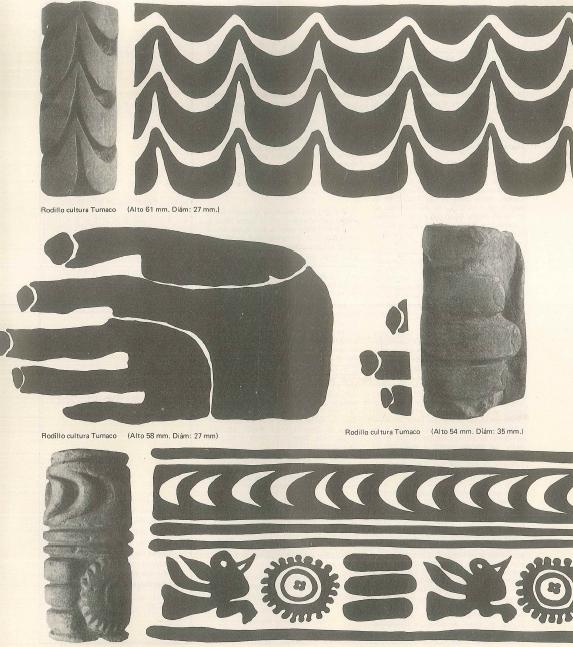 Rodillos precolombinos