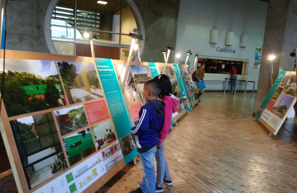 La exposición itinerante del Premio Rogelio Salmona 2016 ahora está en la biblioteca El Tintal