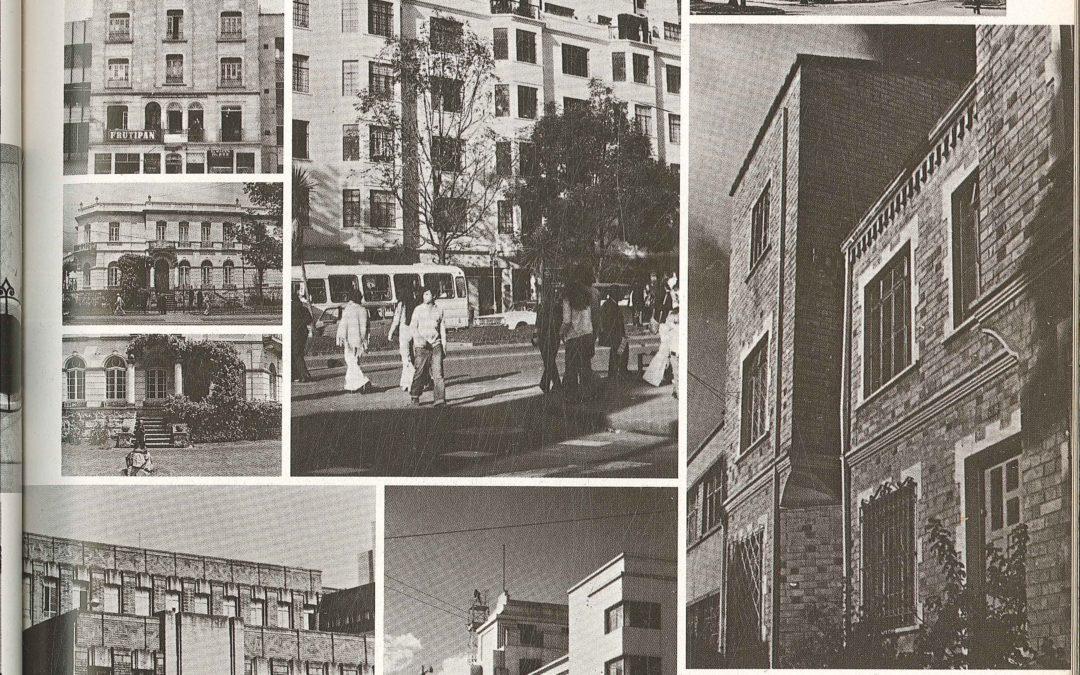 Fascículo 12, Aspectos de la arquitectura contemporánea en Colombia