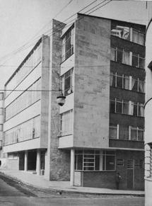 Edificio de apartamentos para la Beneficencia de Cundinamarca. Proyecto: José María Obregón. Calle 12 No. 4-30.