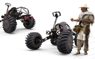 Joven colombiano gana premio en Estados Unidos por vehículo diseñado para arrieros