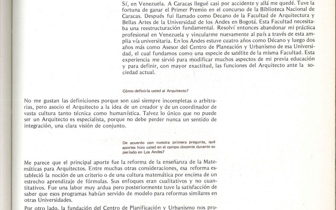 Fascículo 23, Aspectos de la arquitectura contemporánea en Colombia