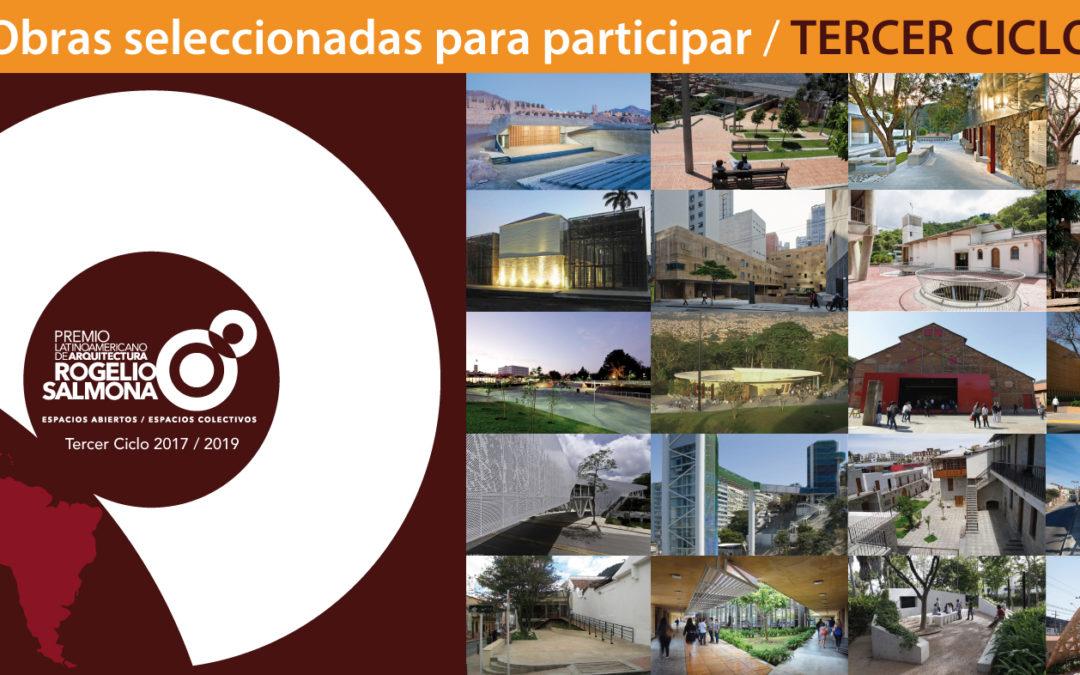 """""""Premio Latinoamericano de Arquitectura Rogelio Salmona: espacios abiertos / espacios colectivos"""" TERCER CICLO 2017-2019"""