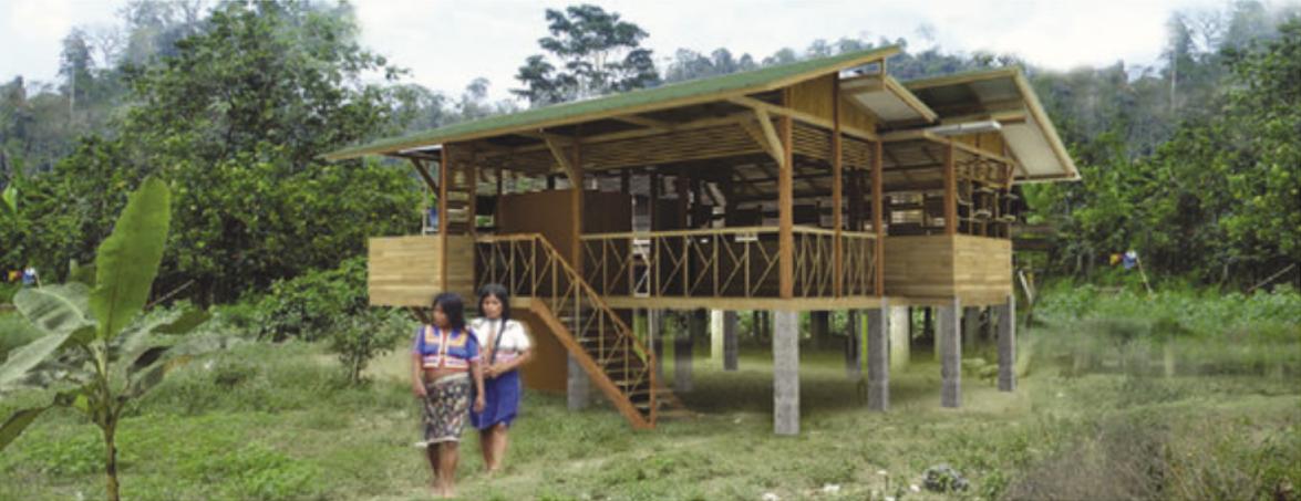 Tierralta, Córdoba (comunidades indígenas). Universidad Pontificia Bolivariana, Montería