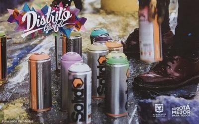 Distrito Grafiti, Bogotá. Festival 2018 y recorridos guiados