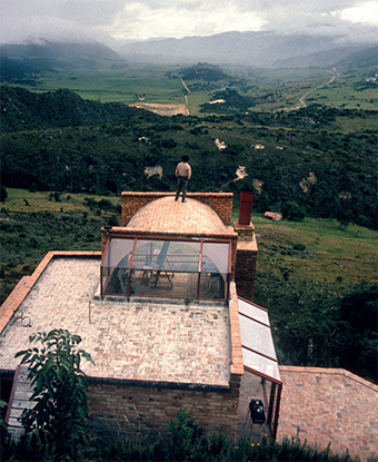 Casa Baresch. La Calera, Cundinamarca (imagen tomada del libro)