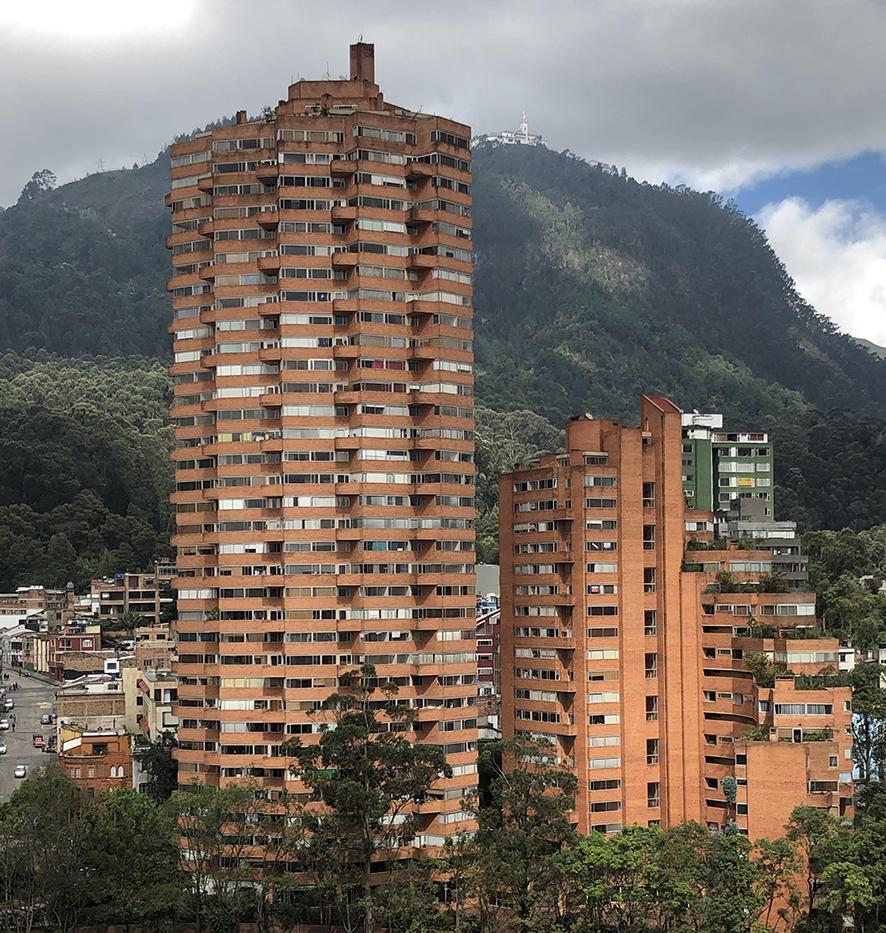 Torres del Parque, obra de Rogelio Salmona. Foto: JRN