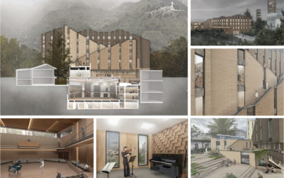 Proyecto para la Escuela de Música de la Universidad de los Andes, Bogotá