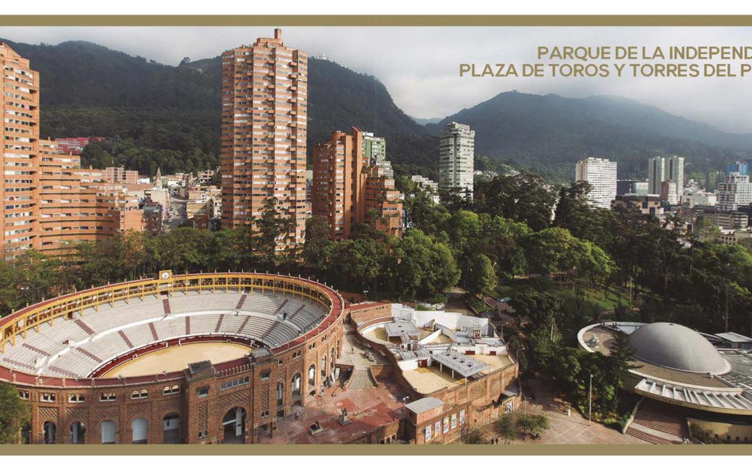 Parque de la Independencia, Plaza de toros y Torres del Parque