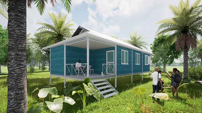 Después del huracán Iota: Proyecto de vivienda para las islas de Providencia y Santa Catalina, Colombia